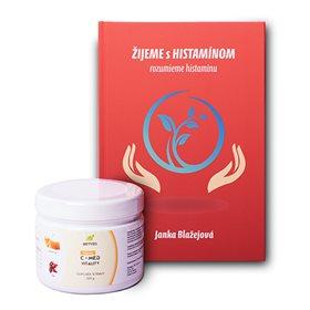 Kniha ŽIJEME s HISTAMÍNOM + vitamín C + Med