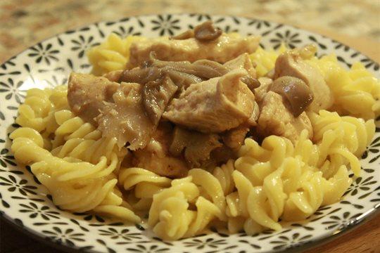 Kuracie mäso s hlivou