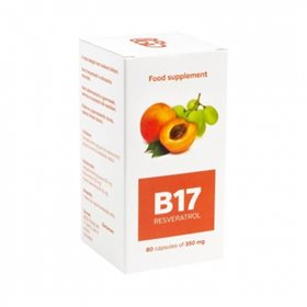 Vitamín B17 + resveratrol