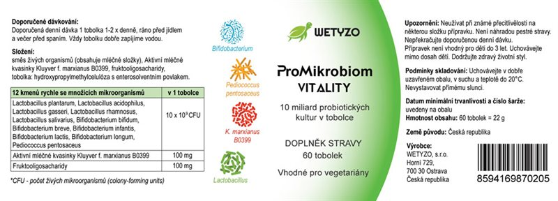 ProMikrobiom Vitality